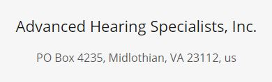 Advanced Hearing Specialists, Inc.